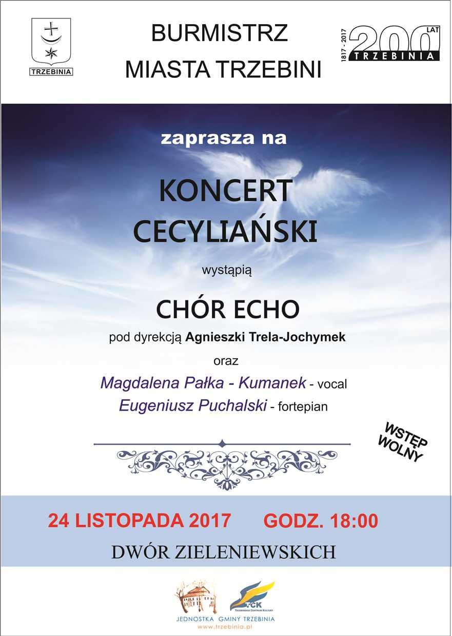 Koncert Cecyliański 2017