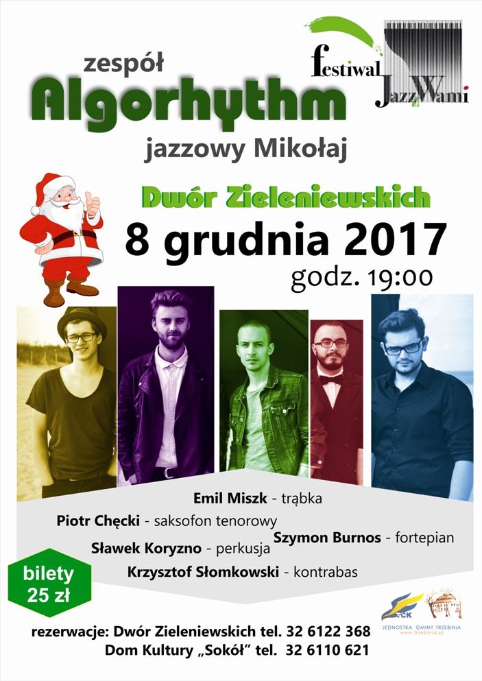 Koncert zespołu Algorhythm w Dworze Zieleniewskich
