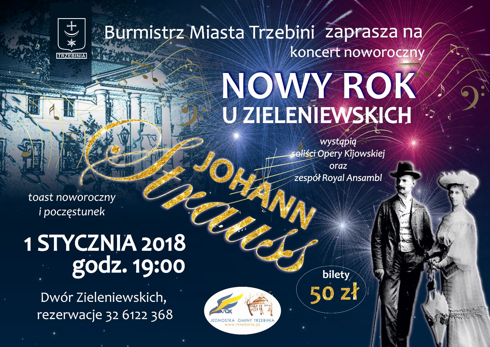 Nowy Rok u Zieleniewskich - koncert noworoczny