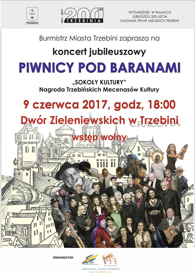 Jubileuszowy Koncert Piwnicy Pod Baranami