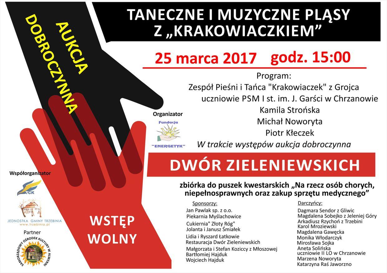 """Taneczne i muzyczne pląsy z """"Krakowiaczkiem"""""""