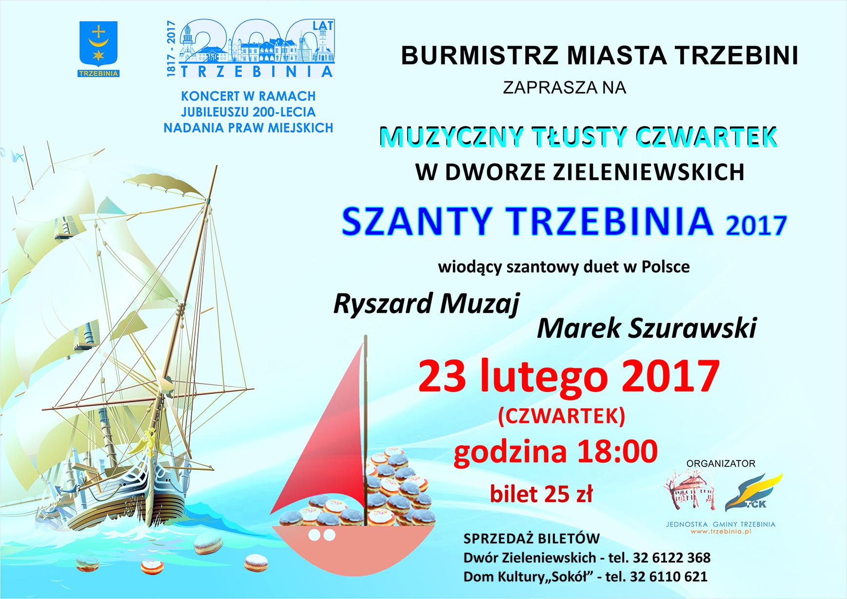 Szanty Trzebinia 2017