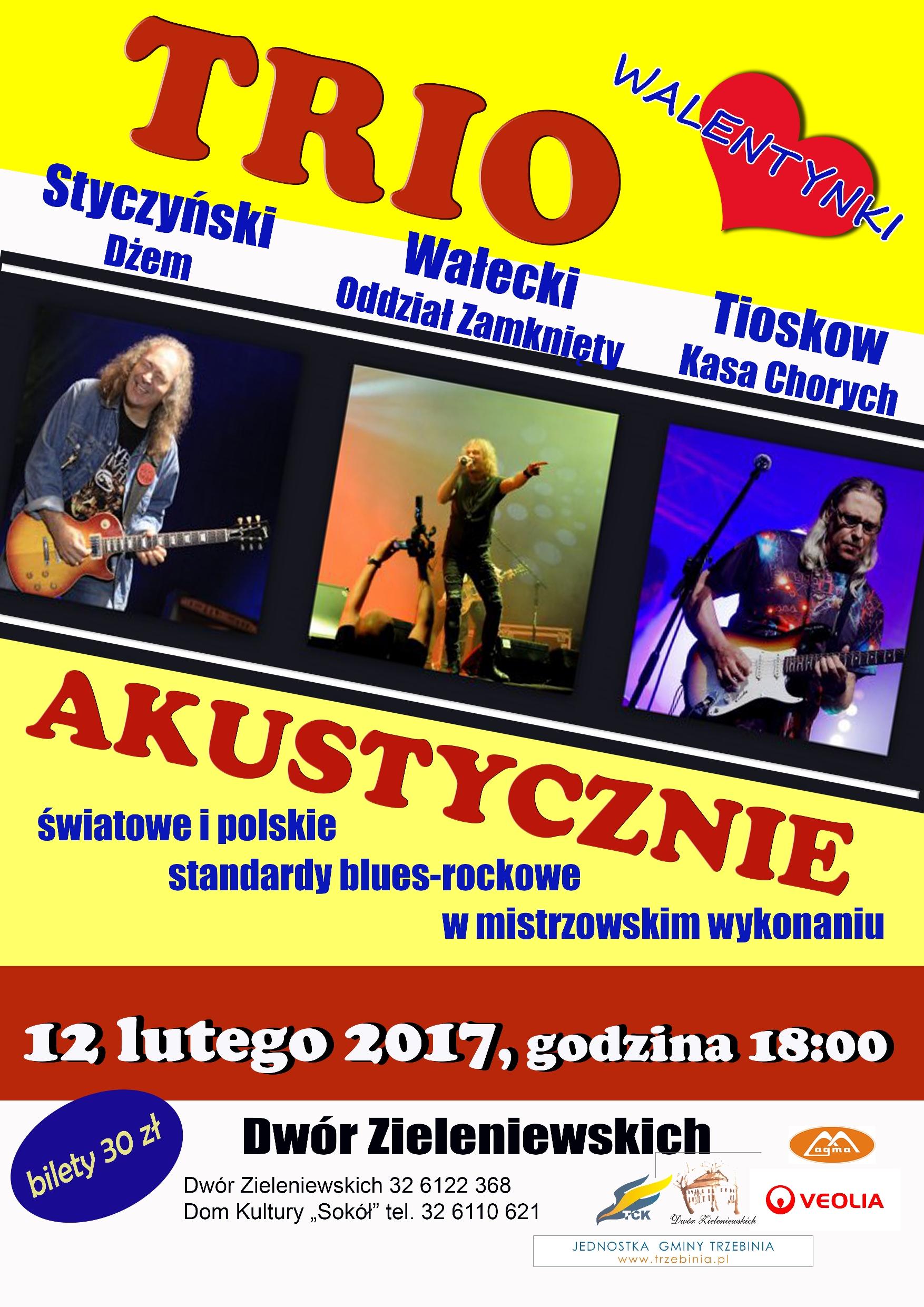 trio styczyński plakat