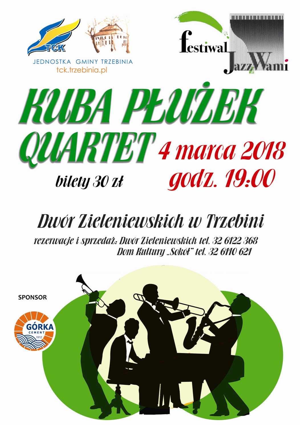 Jazz z Wami - Kuba Płużek Quartet