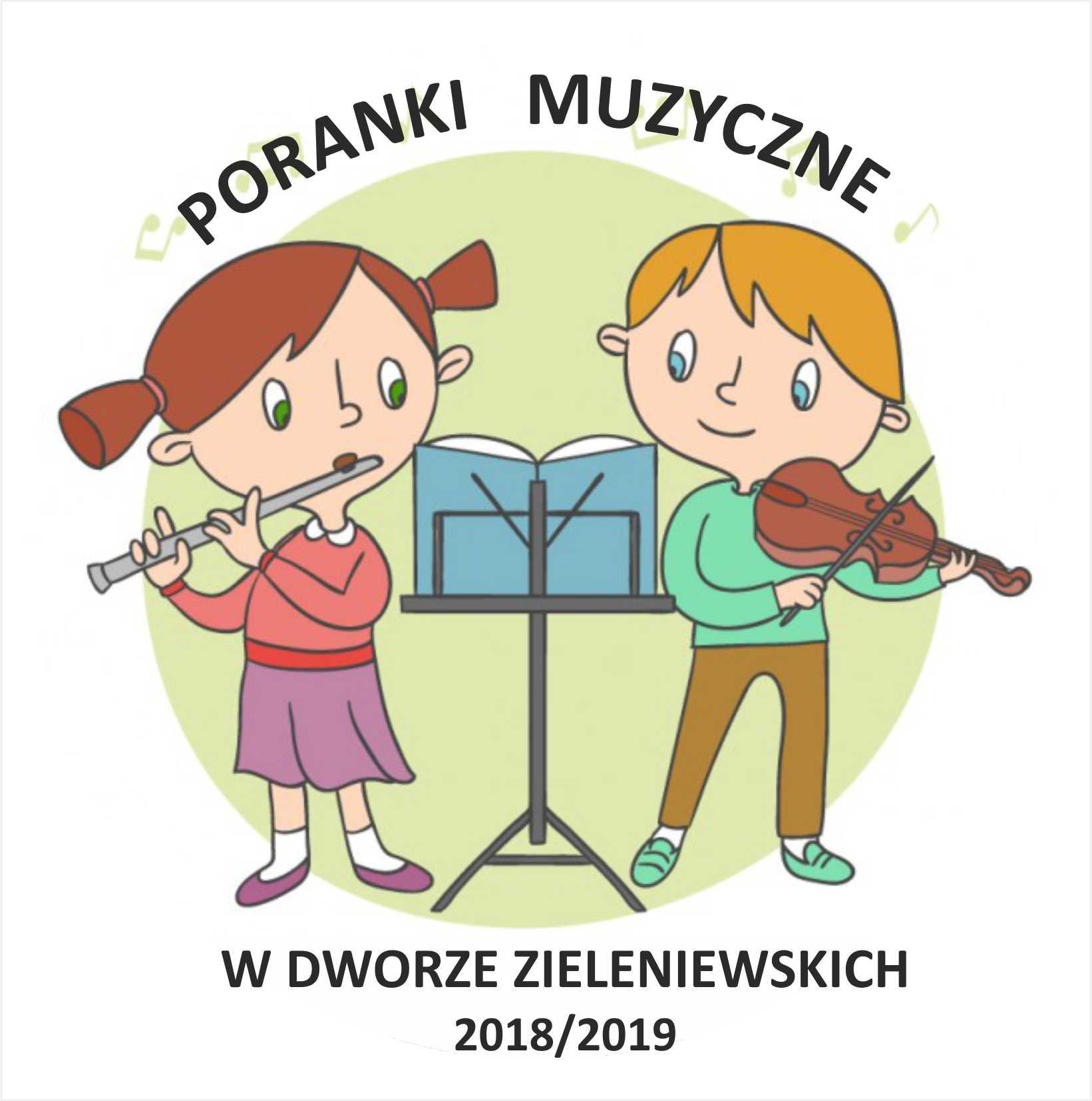 Poranki muzyczne dla dzieci 2018/2019