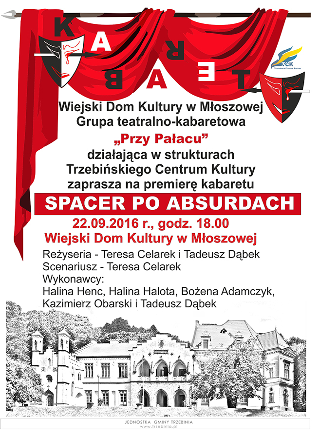 """""""Spacer po absurdach"""" - premiera kabaretu"""