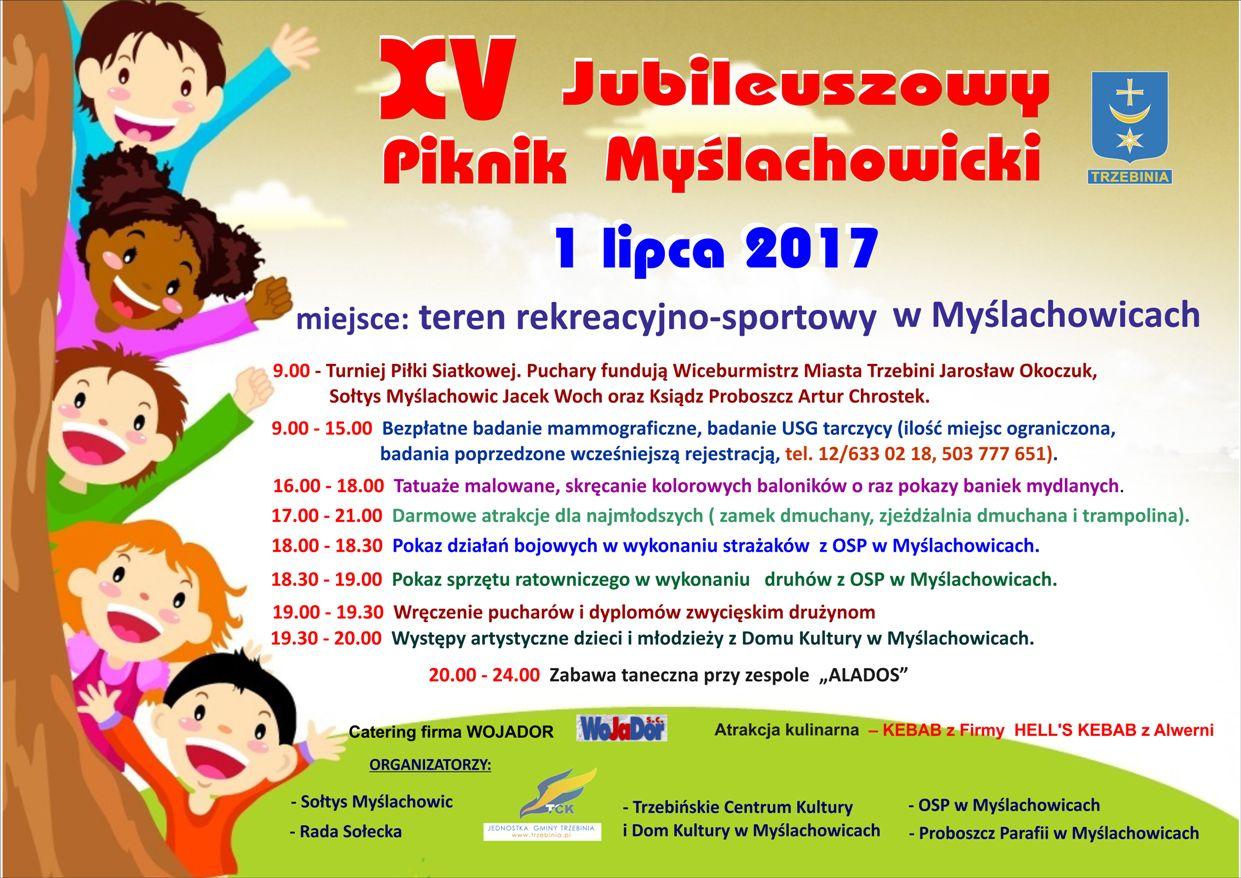 XV Jubileuszowy Piknik Myślachowicki