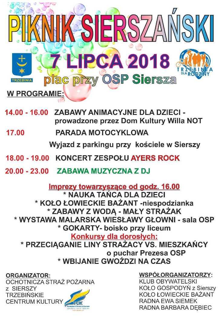 Piknik Sierszański 2018