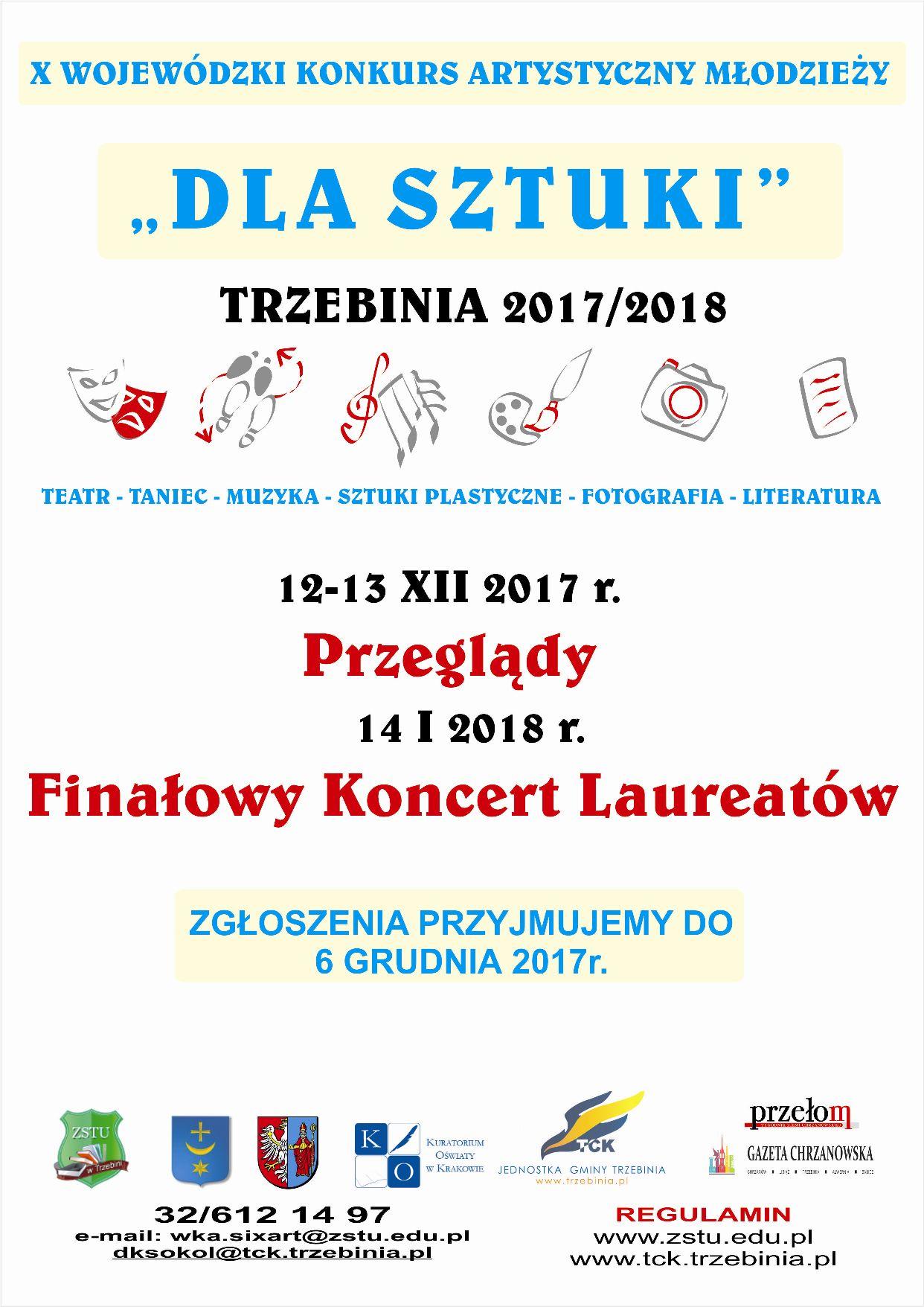 Wojewdzki konkurs artystyczny méodziey dla sztuki sixart 2017 2018 1