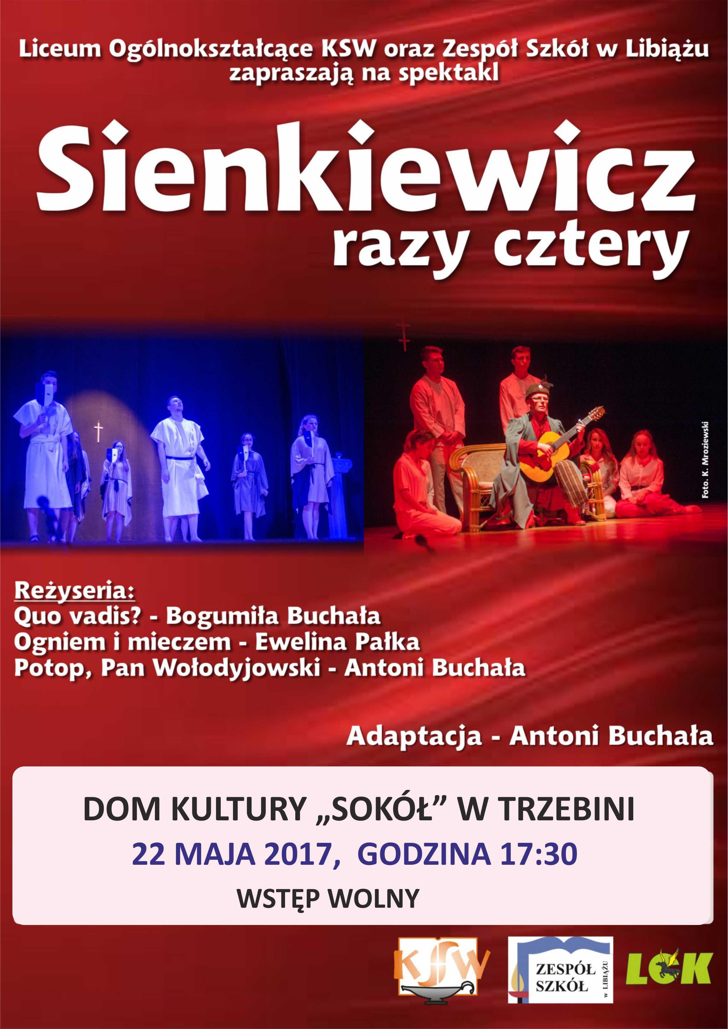 Sienkiewicz cztery razy - spektakl teatralny