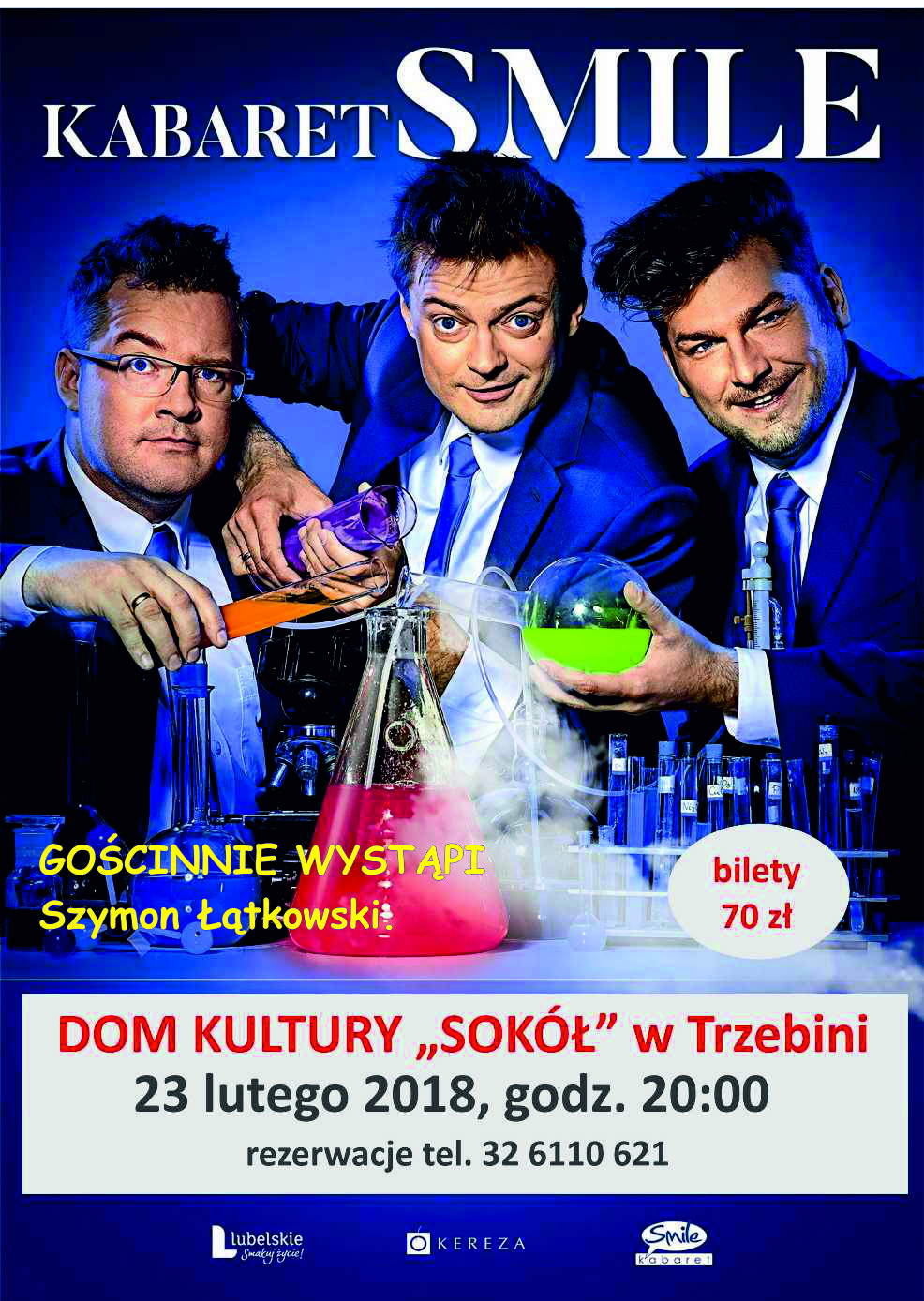 "Kabaret Smile w DK ""Sokół"""