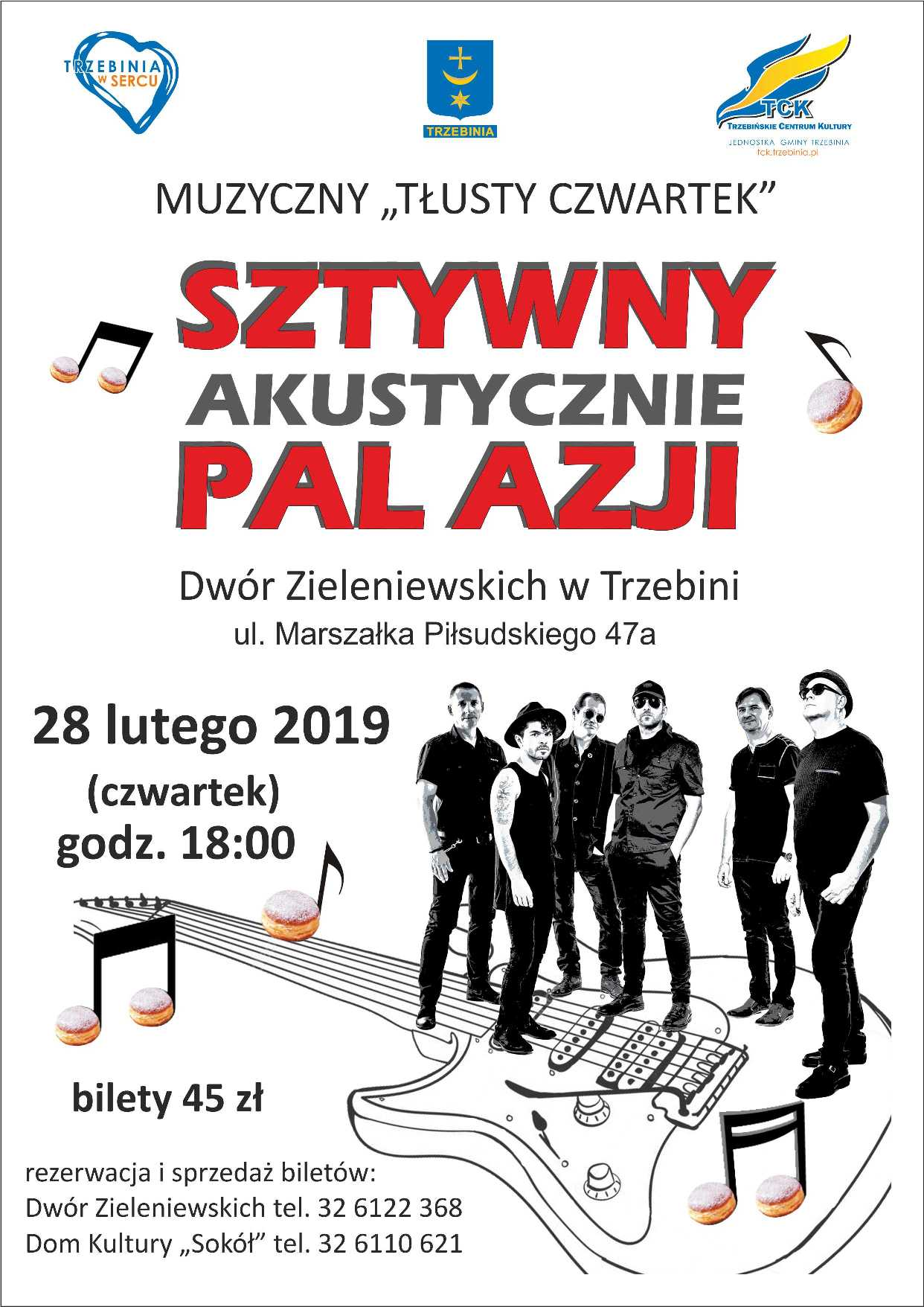 """Muzyczny """"Tłusty Czwartek"""" z zespołem Sztywny Pal Azji"""