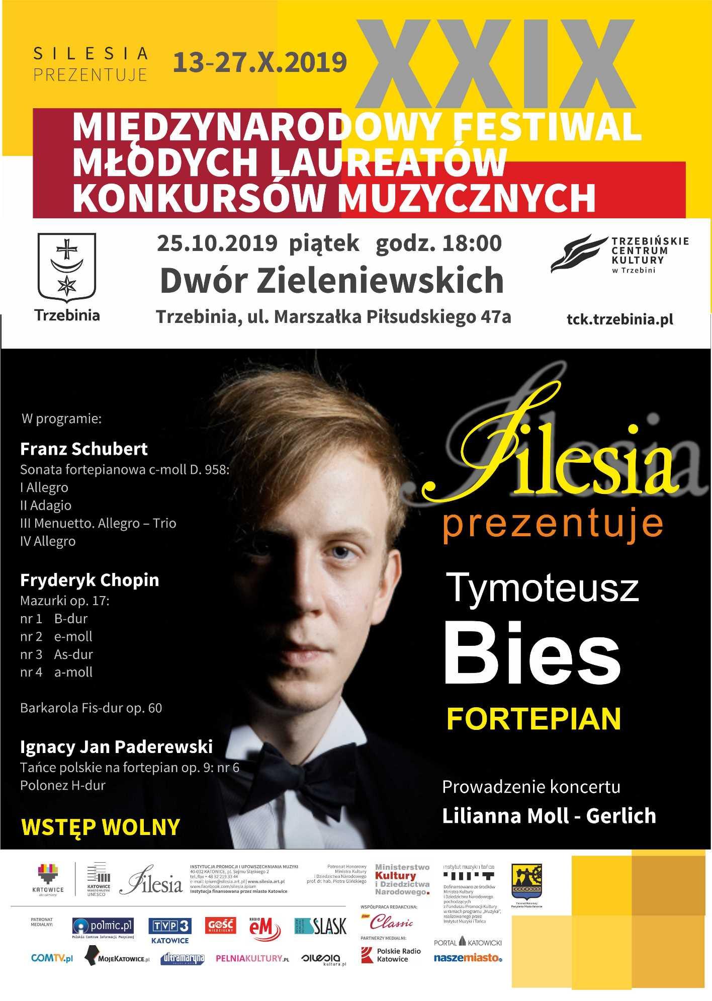 Silesia prezentuje: Tymoteusz Bies - fortepian