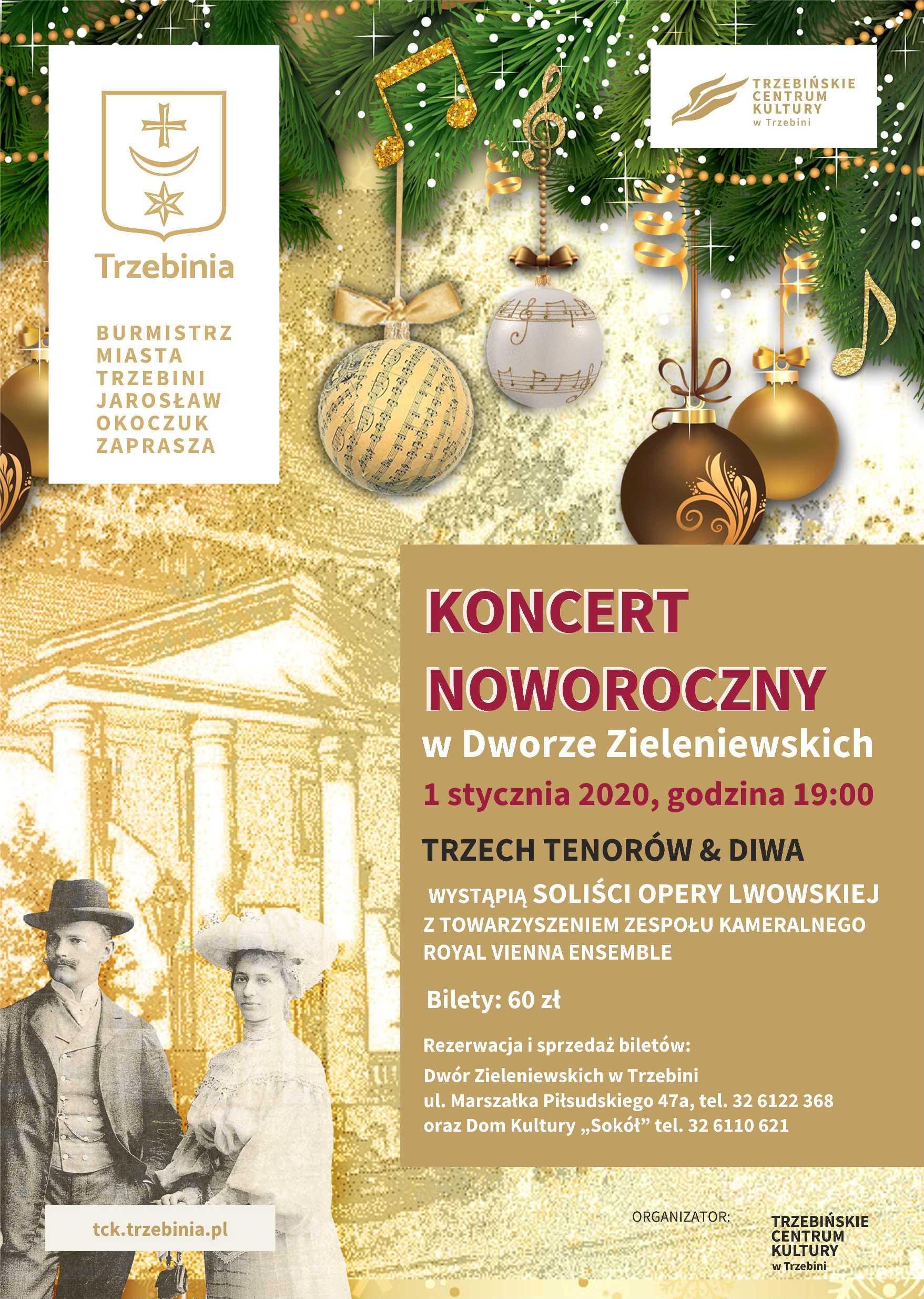 Koncert Noworoczny 2020 w Dworze Zieleniewskich