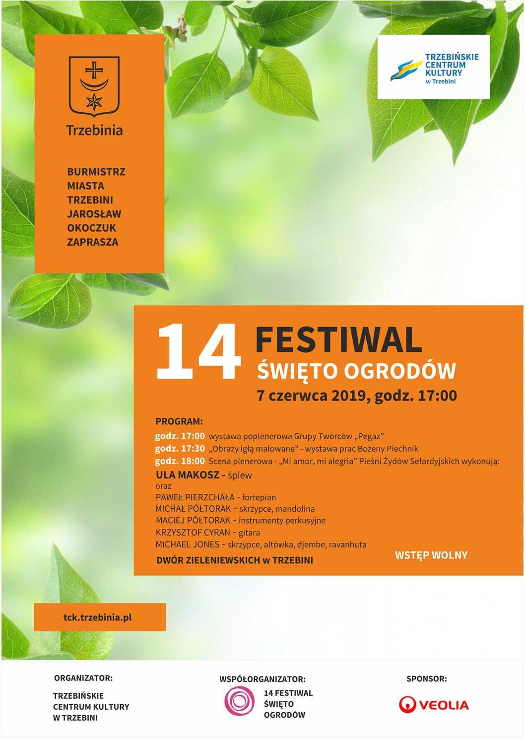 14. Festiwal Święto Ogrodów