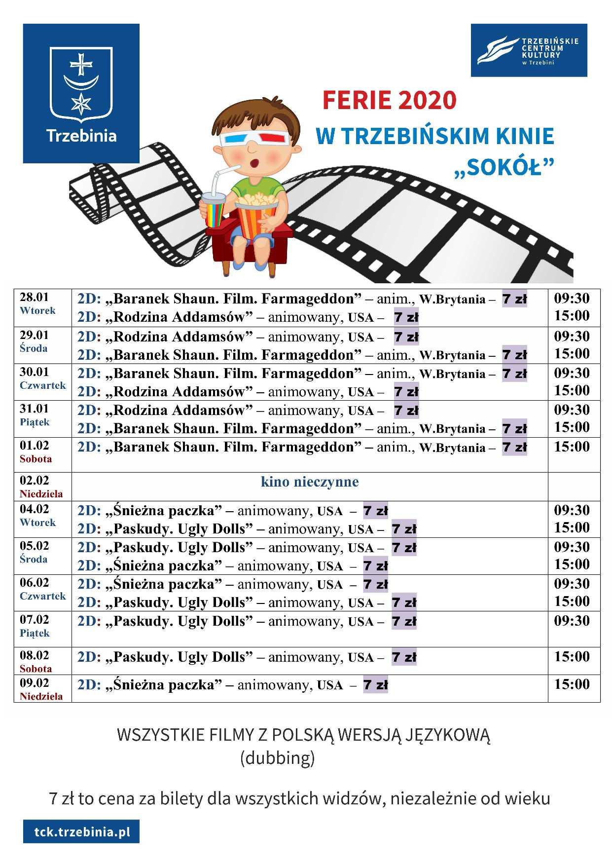 kino ferie