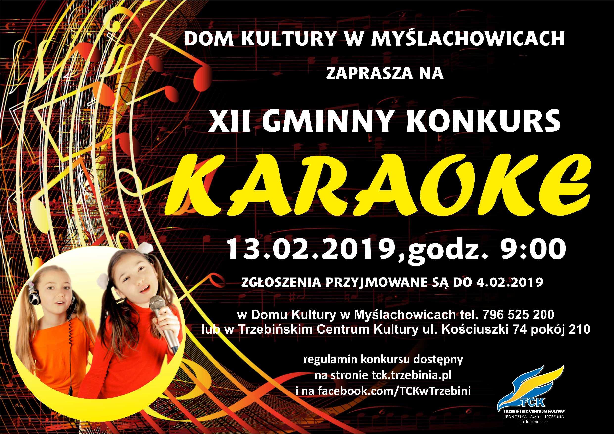 XII Gminny Konkurs Karaoke