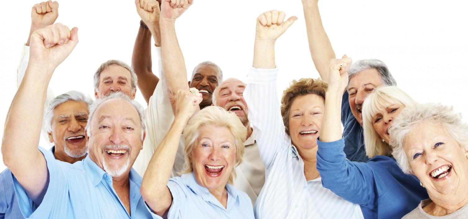 szczęsliwi seniorzy